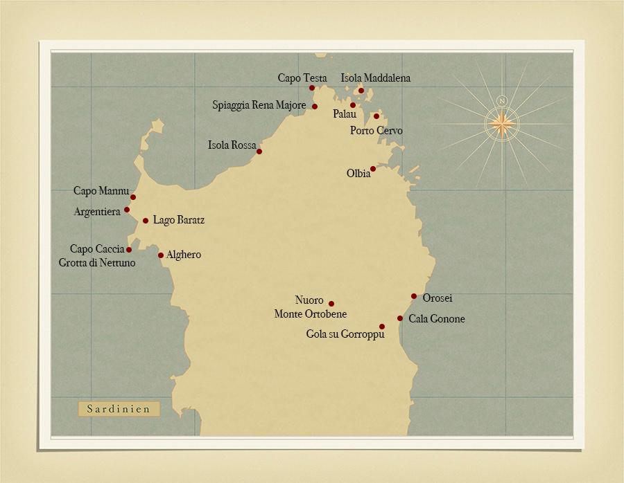 Sardinien_Landkarte