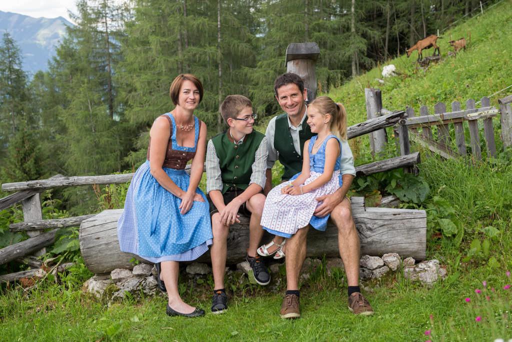 Familienfotoshooting auf der Bleckwand, Fotograf Salzkammergut