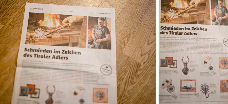 Imagefotos Unternehmen Tirol | Designerschmiede Martin Albrecht Pfaffenhoffen / Telfs | fotografiert von Stefanie Reindl Photography
