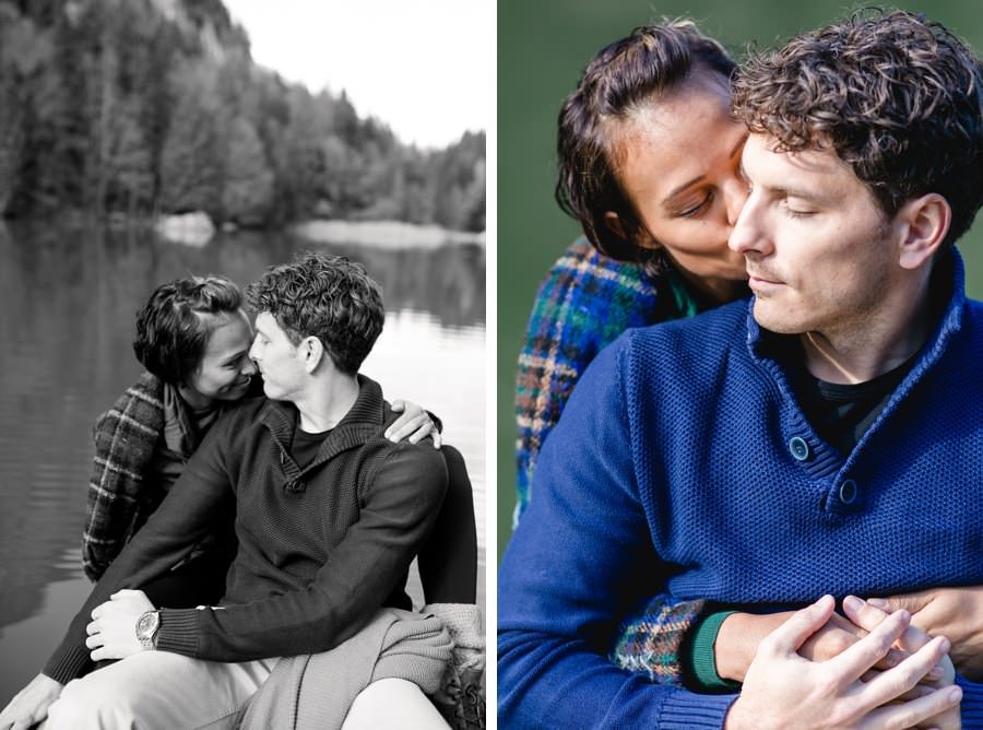 Paarshooting am Berglsteinersee Fotos von Stefanie Reindl Photography | Photographer tyrol for couple shooting