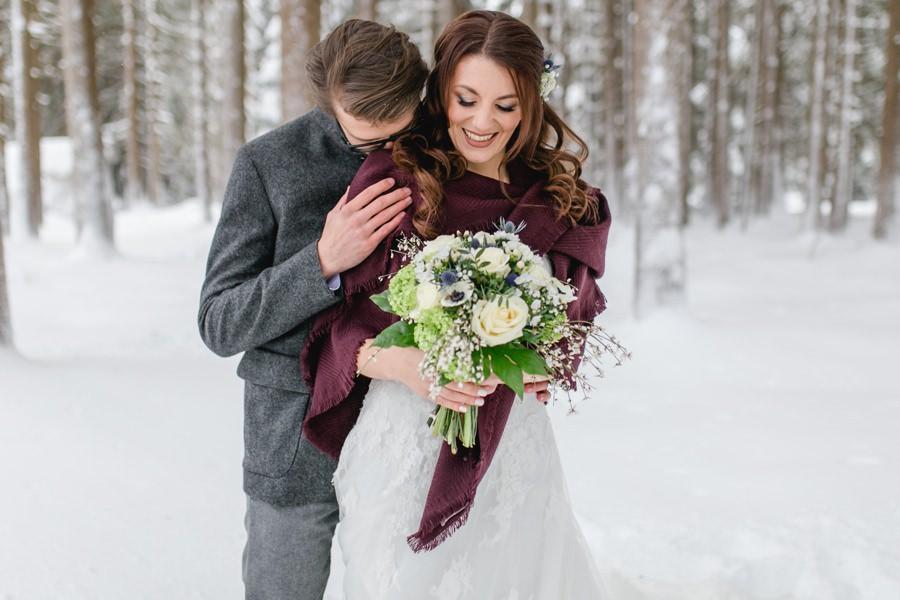 Winterhochzeit - Inspiration für dein romantisches Wintermärchen - Stefanie Reindl Photography