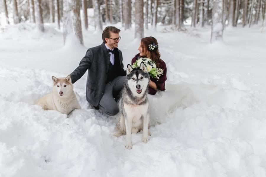 Traumhafte Winterhochzeit in Österreich - Stefanie Reindl Photography