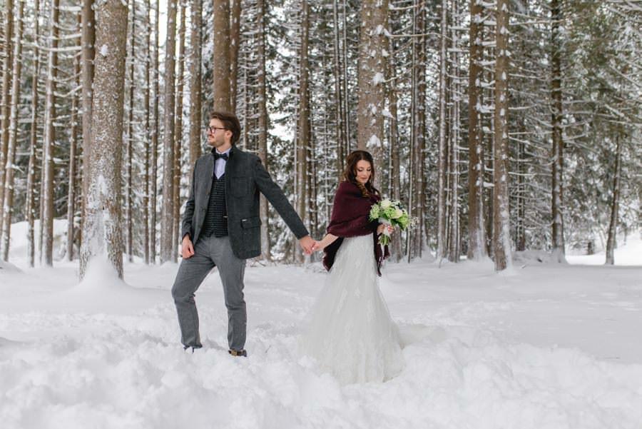 Heiraten im Winter - Ideen und Inspirationen für dein Wintermärchen - Stefanie Reindl Photography