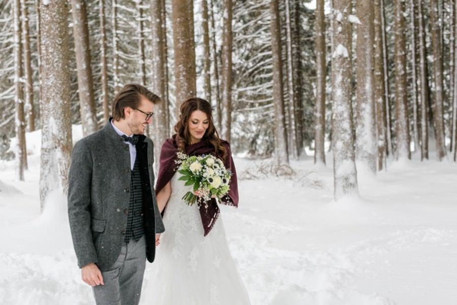 Heiraten im Winter - Ideen und Inspirationen für deine Winterhochzeit - Stefanie Reindl Photography