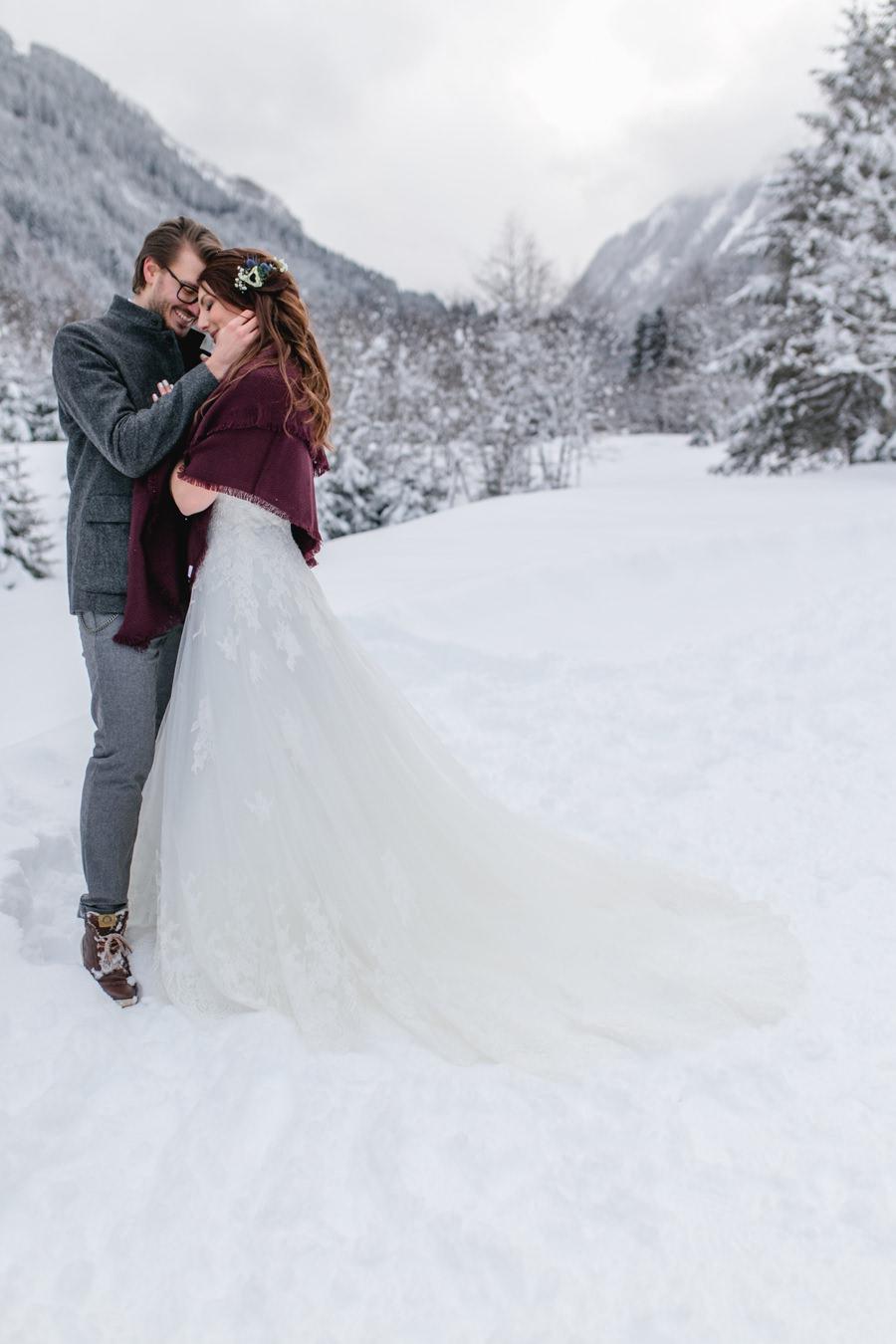 Heiraten im Winter - hier findest du Ideen und Inspirationen für deine Hochzeit im Winter