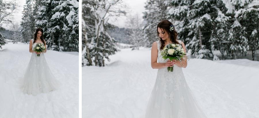 Brautkleid von Watters - perfektes Kleid für deine Hochzeit im Winter