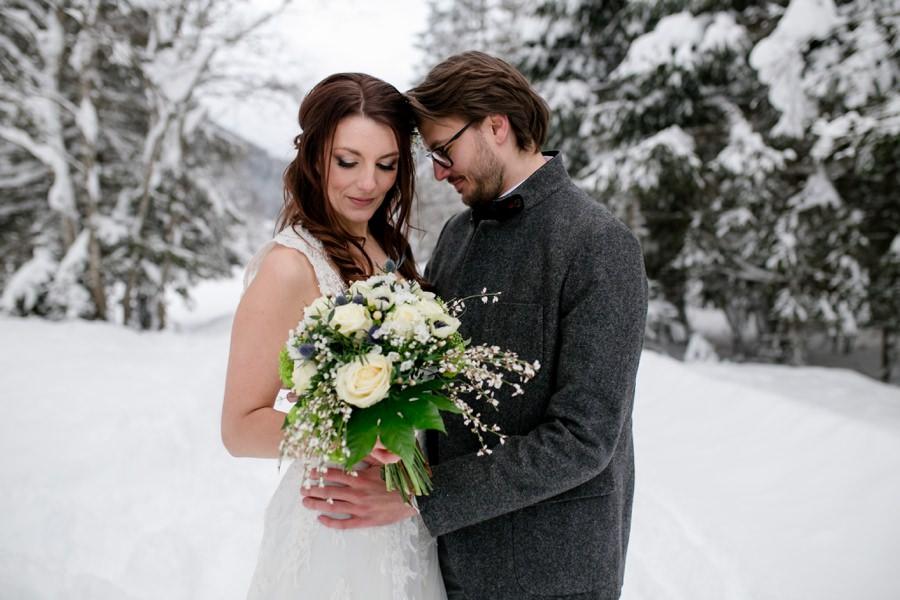 Romantische Winterhochzeit - Foto von Stefanie Reindl Photography