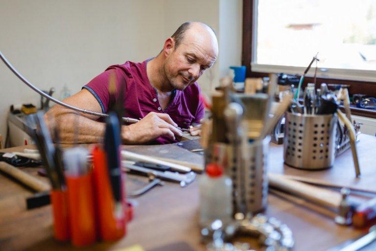 Trauringe selber machen bei einem Workshop von Franz Reisinger | Stefanie Reindl Photography