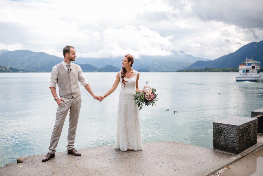 Hochzeit Mondsee: Heiraten in der Kulisse des Salzkammergutes | Foto: Stefanie Reindl Photography