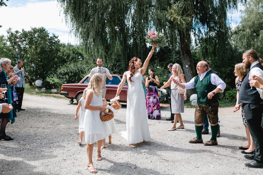 Hochzeit feiern am Kulturgut Höribach in Mondsee | Hochzeitsfotograf Mondsee: Stefanie Reindl Photography
