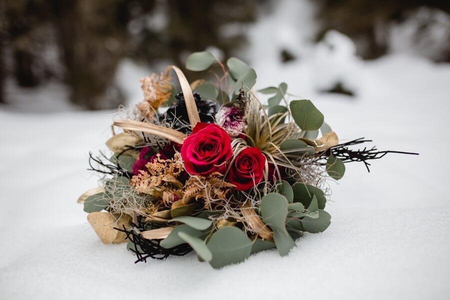 Brautstrauß für Winterhochzeit - Stefanie Reindl Photography