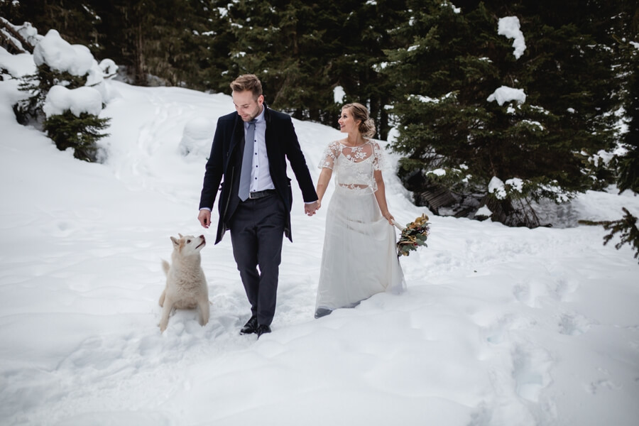 Heiraten im Winter in Österreich - Stefanie Reindl Photography