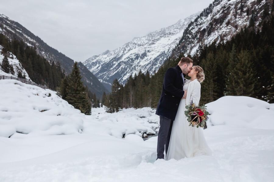 Die schönsten Hochzeitslocations für eine Winterhochzeit in Österreich