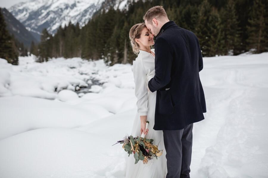 Heiraten in den Alpen im Winter - Stefanie Reindl Photography