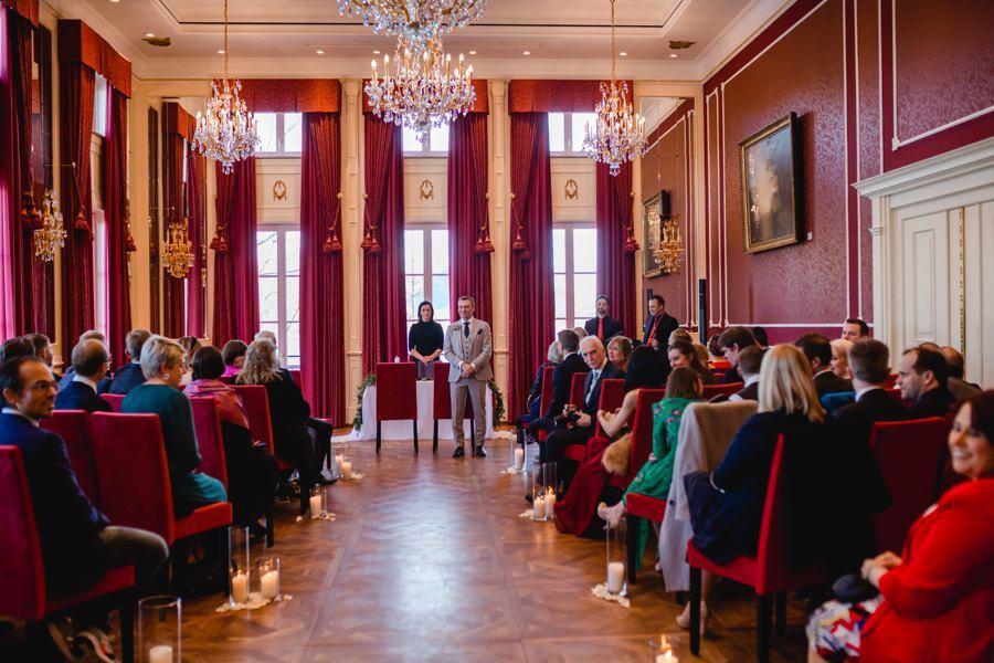 Standesamtliche Hochzeit im Schloss Fuschl