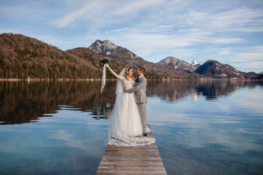 Hochzeit feiern im Schloss Fuschl am Fuschlsee bei Salzburg